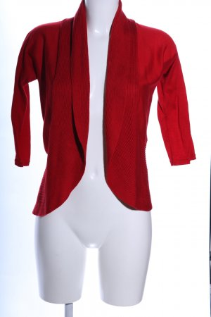 Lauren by Ralph Lauren Knitted Bolero red casual look