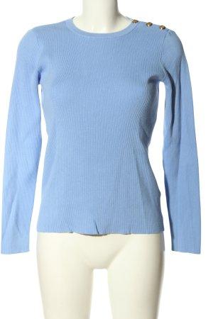 Lauren by Ralph Lauren Strickpullover blau Casual-Look