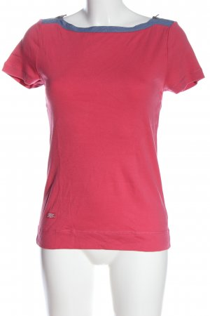 Lauren by Ralph Lauren Strickshirt pink-blau Casual-Look