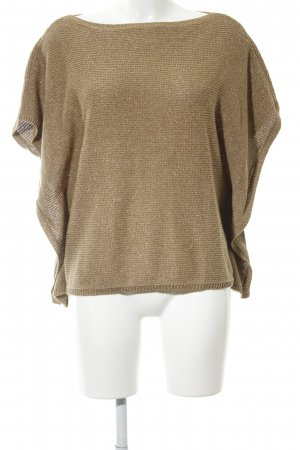Lauren by Ralph Lauren Strickshirt bronzefarben Casual-Look