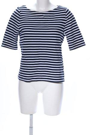 Lauren by Ralph Lauren T-Shirt schwarz-weiß Streifenmuster Casual-Look