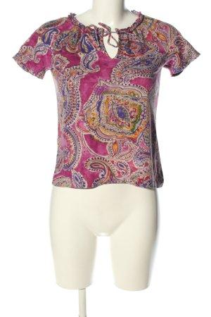 Lauren by Ralph Lauren T-Shirt Allover-Druck Casual-Look