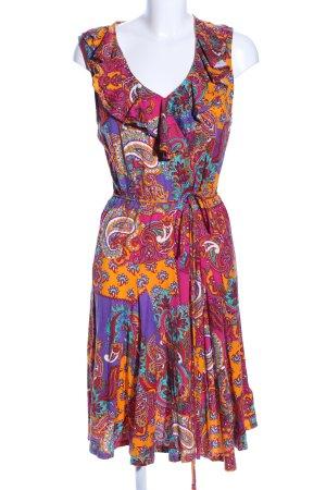 Lauren by Ralph Lauren Trägerkleid abstraktes Muster Casual-Look