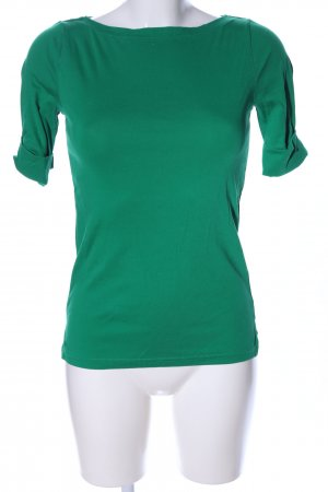 Lauren by Ralph Lauren U-Boot-Shirt grün Casual-Look