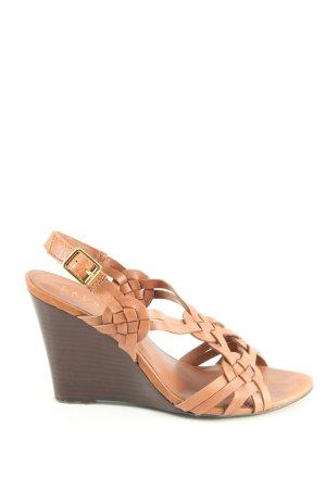 Lauren by Ralph Lauren Wedges Sandaletten braun Casual-Look