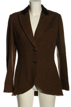 Lauren by Ralph Lauren Blazer en laine brun style d'affaires