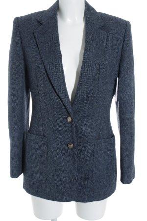 Lauren by Ralph Lauren Woll-Blazer graublau-dunkelblau Business-Look