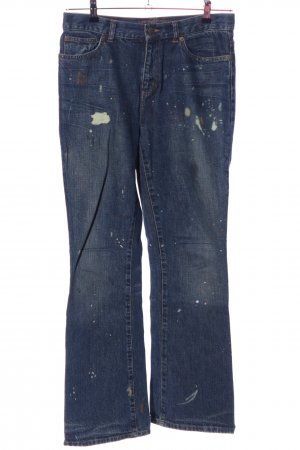 Lauren Jeans Co. Ralph Lauren Boot Cut Jeans blau Casual-Look