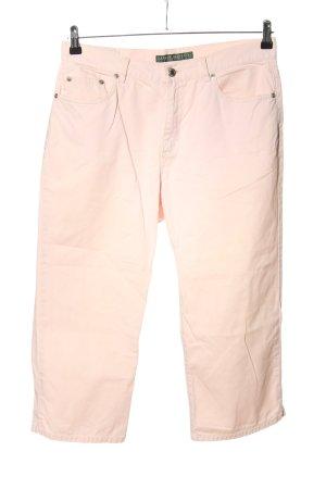 Lauren Jeans Co. Ralph Lauren Caprihose creme Casual-Look