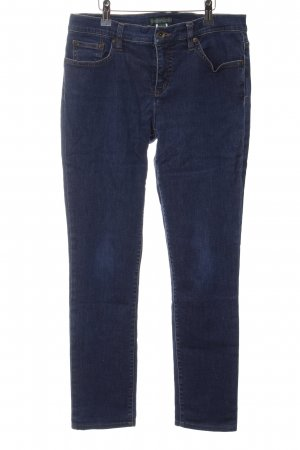 Lauren Jeans Co. Ralph Lauren Slim Jeans blau Casual-Look