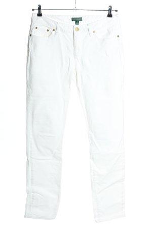 Lauren Jeans Co. Ralph Lauren Slim jeans wit casual uitstraling