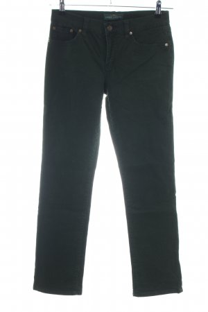 Lauren Jeans Co. Ralph Lauren Straight-Leg Jeans schwarz Casual-Look
