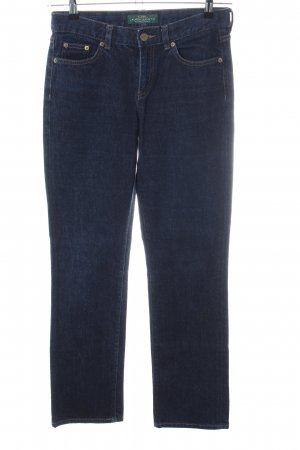 Lauren Jeans Co. Ralph Lauren Straight-Leg Jeans blau Casual-Look