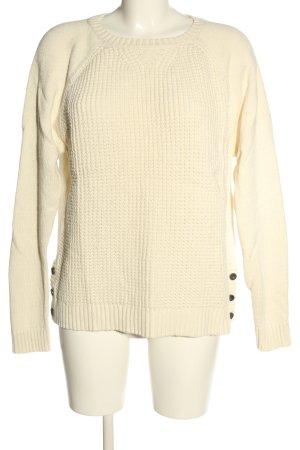 Lauren Jeans Co. Ralph Lauren Strickpullover creme Casual-Look