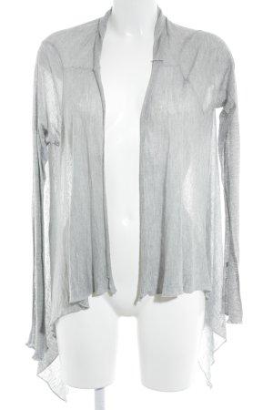 Lauren Moshi Cardigan light grey themed print casual look