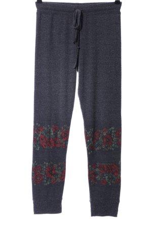 Lauren Moshi Pantalon de jogging motif de fleur style décontracté