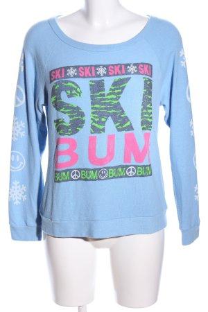 Lauren Moshi Sweatshirt Mustermix Casual-Look