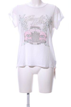 Lauren Moshi T-Shirt Motivdruck Casual-Look