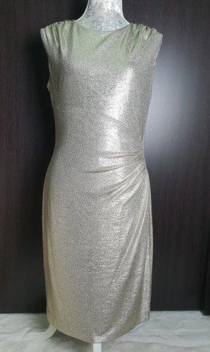Lauren Ralph Lauren Damen Abendkleid Partykleid Gold