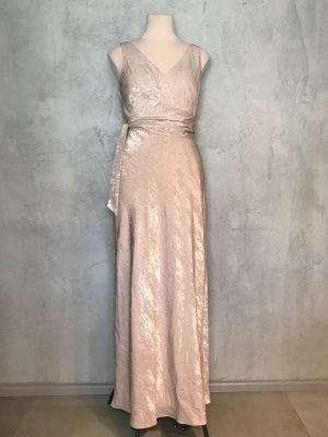 Lauren by Ralph Lauren Evening Dress rose-gold-coloured-pink polyester
