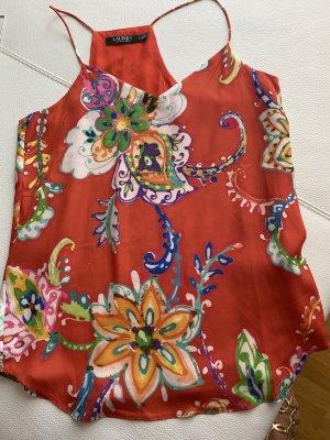 Lauren by Ralph Lauren A Line Top multicolored