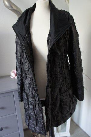 Lauren Vidal Jacke XL Damen schwarz Mantel
