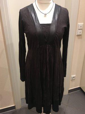 Lauren Vidal Empire Dress black viscose