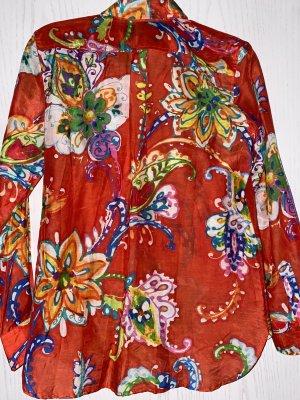 Lauren by Ralph Lauren Long Sleeve Blouse multicolored cotton