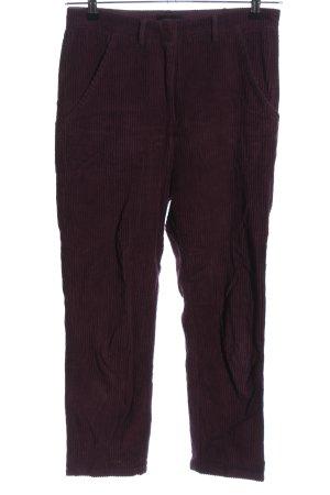laurence bras Spodnie sztruksowe fiolet W stylu casual