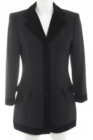 Laurenza Long-Blazer schwarz Business-Look