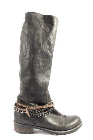 Lav. Artigiana Buty zimowe czarny W stylu casual