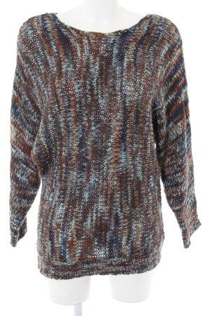 Lavand Pullover a maglia grossa stampa integrale stile casual