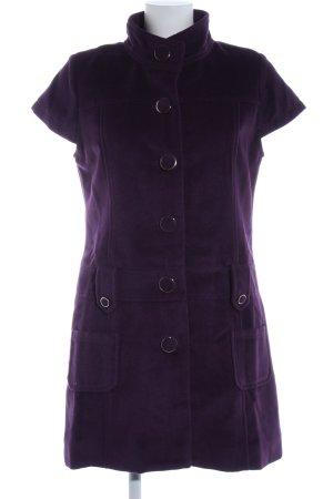Lavand Vestido tipo blusón lila look casual
