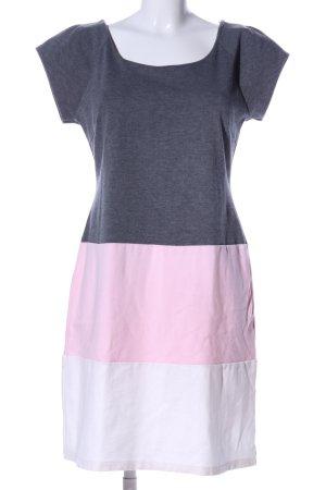 Lavand Jerseykleid meliert Casual-Look