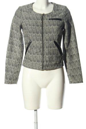 Lavand Giacca-camicia grigio chiaro puntinato stile casual