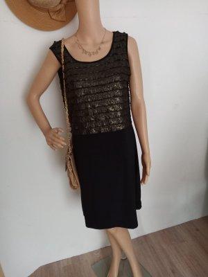 Lavelle Abendkleid schwarz gold 36/38 neu
