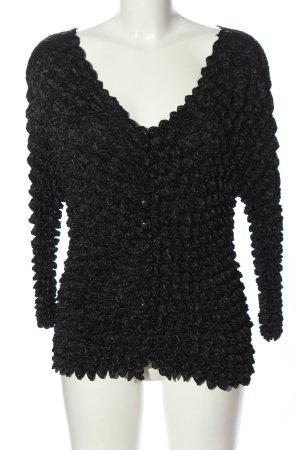Lavelle Crash-Bluse schwarz extravaganter Stil