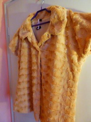 Lavelle Fake Fur Vest camel polyester
