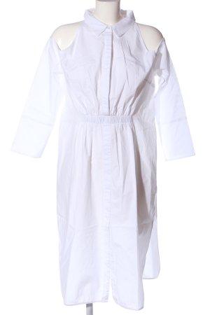 Lavish Alice Longsleeve Dress white casual look