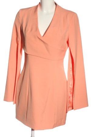 Lavish Alice Longsleeve Dress light orange elegant