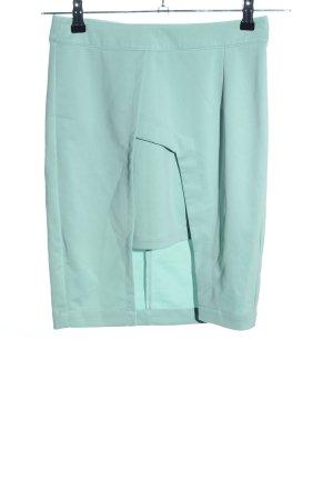 Lavish Alice Stretch Skirt turquoise business style