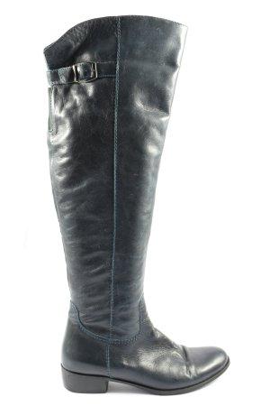Lavorazione artigana Wide Calf Boots black casual look