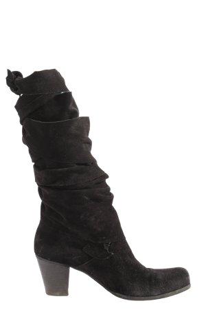 Lavorazione Artigiana Heel Boots black casual look
