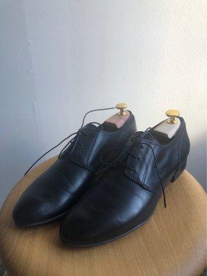 Lavorazione Artigiana Wingtip Shoes black
