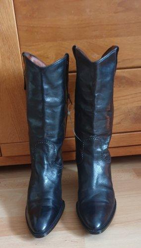 Lavorazione Artigiana Western Boots black