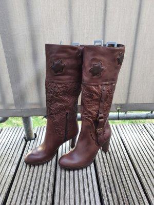 Lavorazione Artigiana Heel Boots brown
