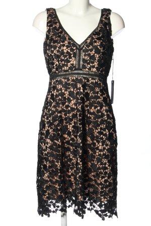 Lawrence Grey Abendkleid schwarz-creme Elegant