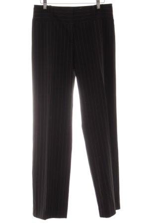 Lawrence Grey Anzughose schwarz Nadelstreifen Business-Look