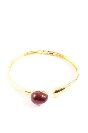 Lawrence Grey Bracelet de bras doré-rouge style décontracté