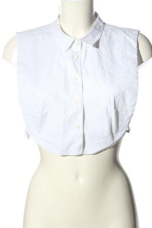 Lawrence Grey Empiècement de blouses blanc style décontracté